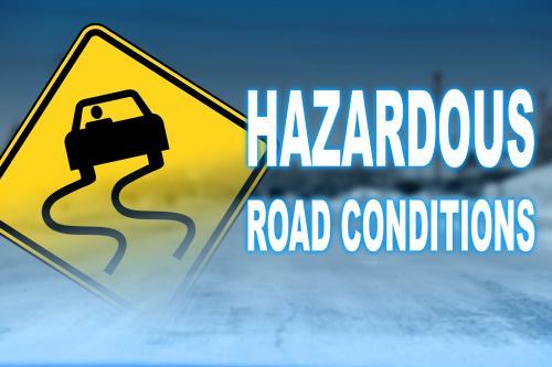 Check local road conditions
