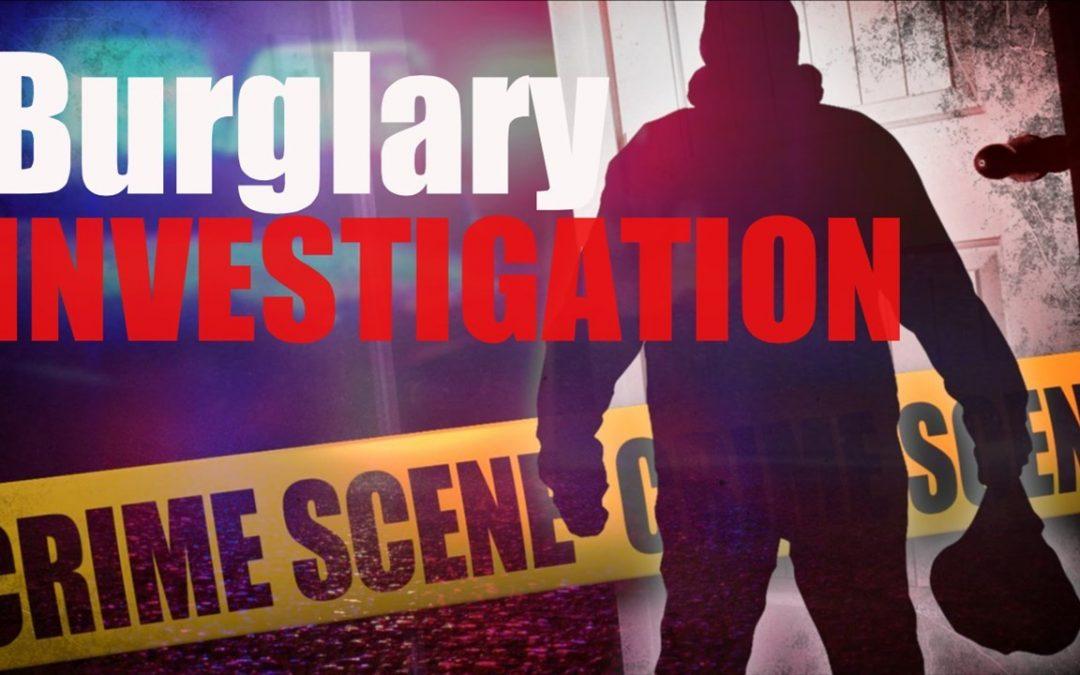 SCSO seeking information regarding burglary